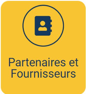Mode d'emploi - Catégorie Partenaires et Fournisseurs