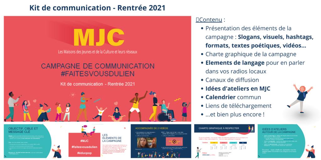 Contenu du kit de communication #faitesvousdulien