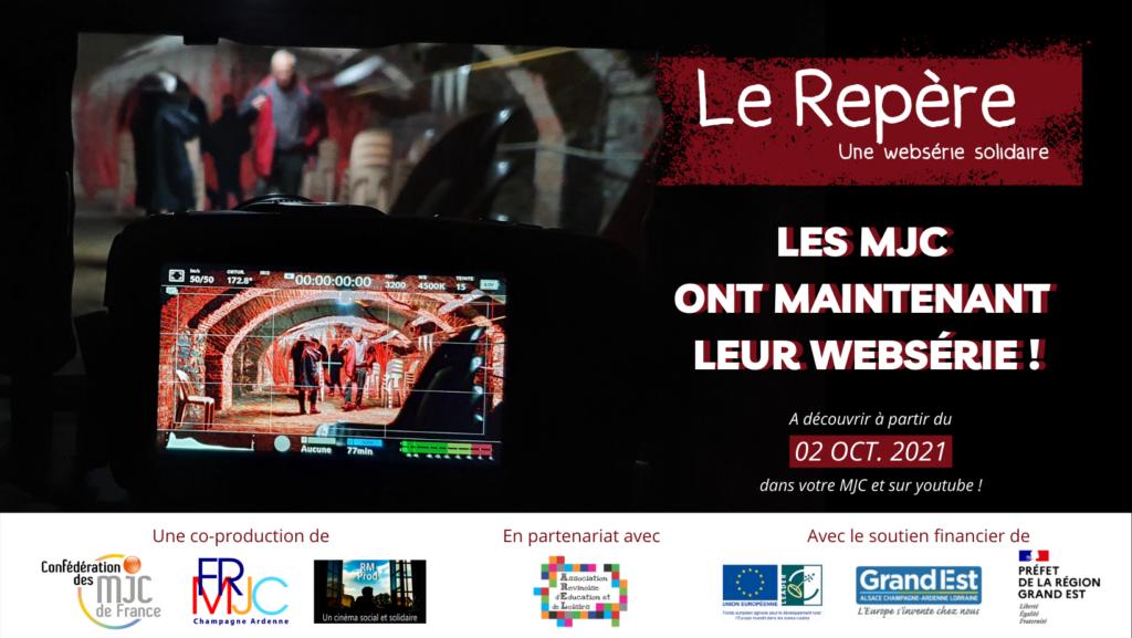 Bannière Lancement national websérie Le Repère 02 octobre 2021